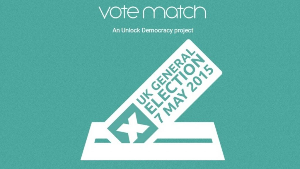 The Vote Match project offers voters an easy way of choosing who to vote for