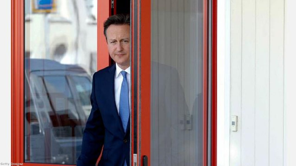 A new problem for David Cameron to deal with