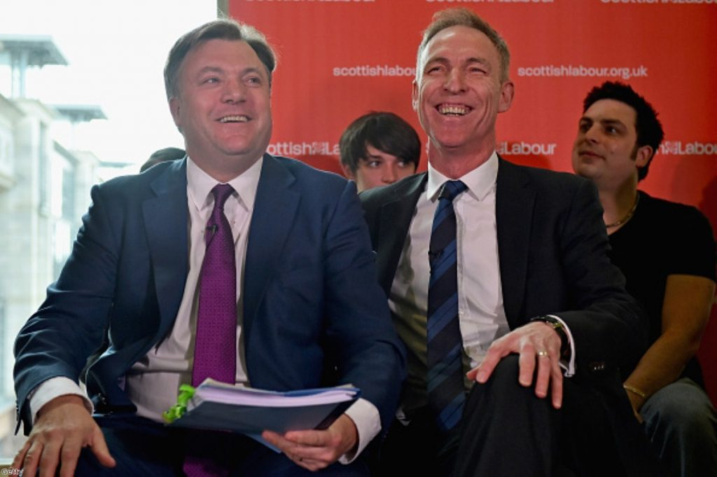 Ed Balls to Jim Murphy: There will be cuts