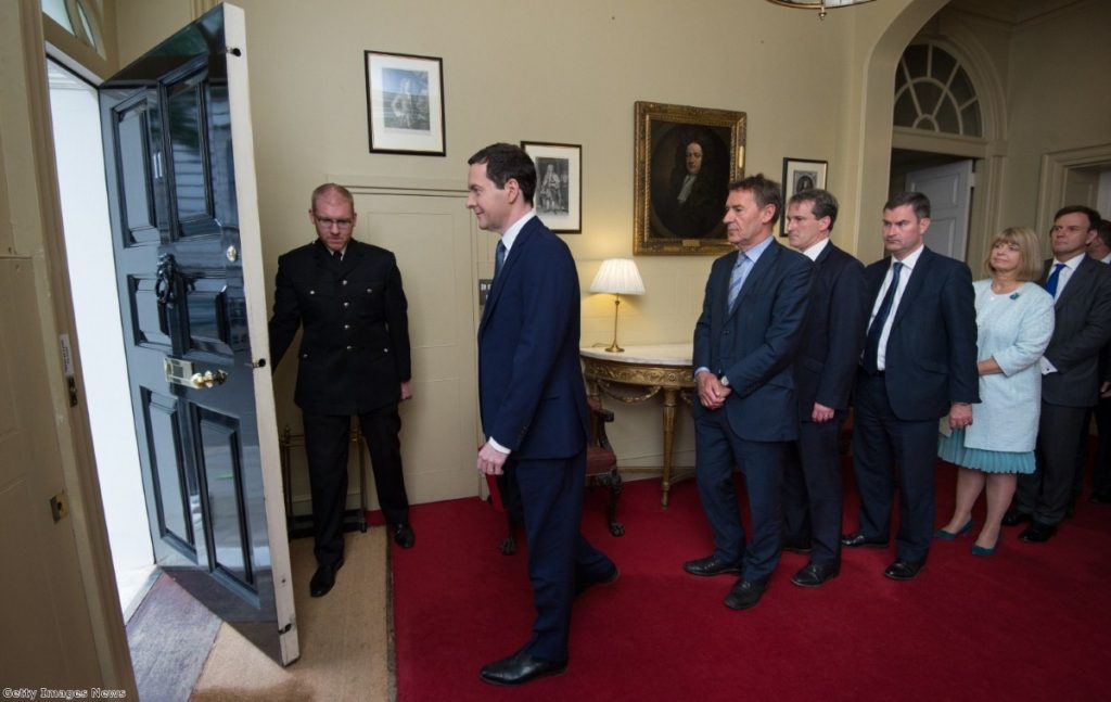 Osborne prepares to present his Budget to the Commons