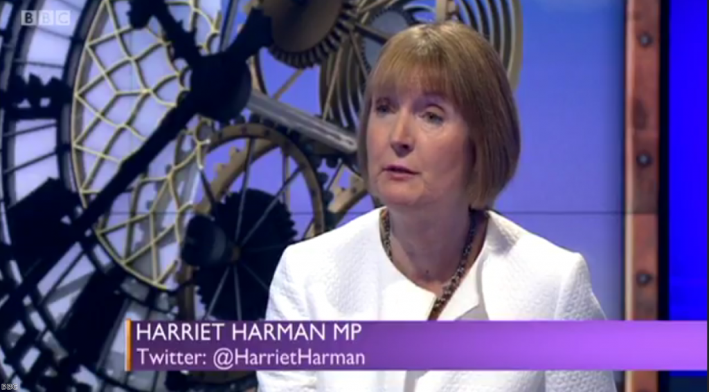 """Harriet Harman: """"We have got to recognise why it was that the Tories are in government and not us"""""""