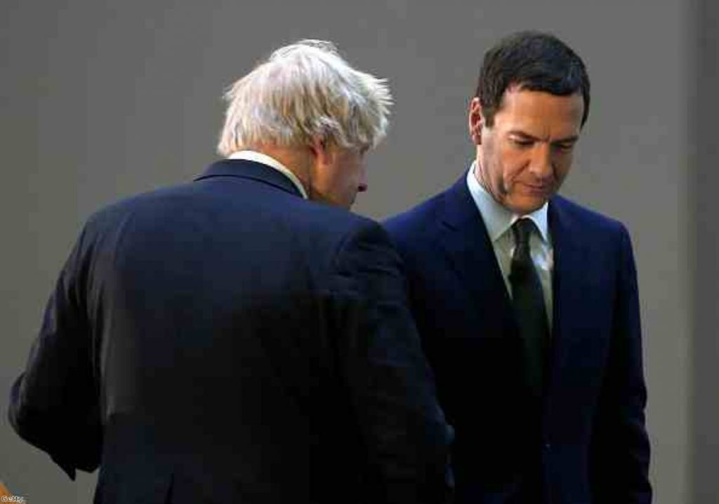 Boris Johnson concerned Osborne has 'muddied waters' in living wage campaign