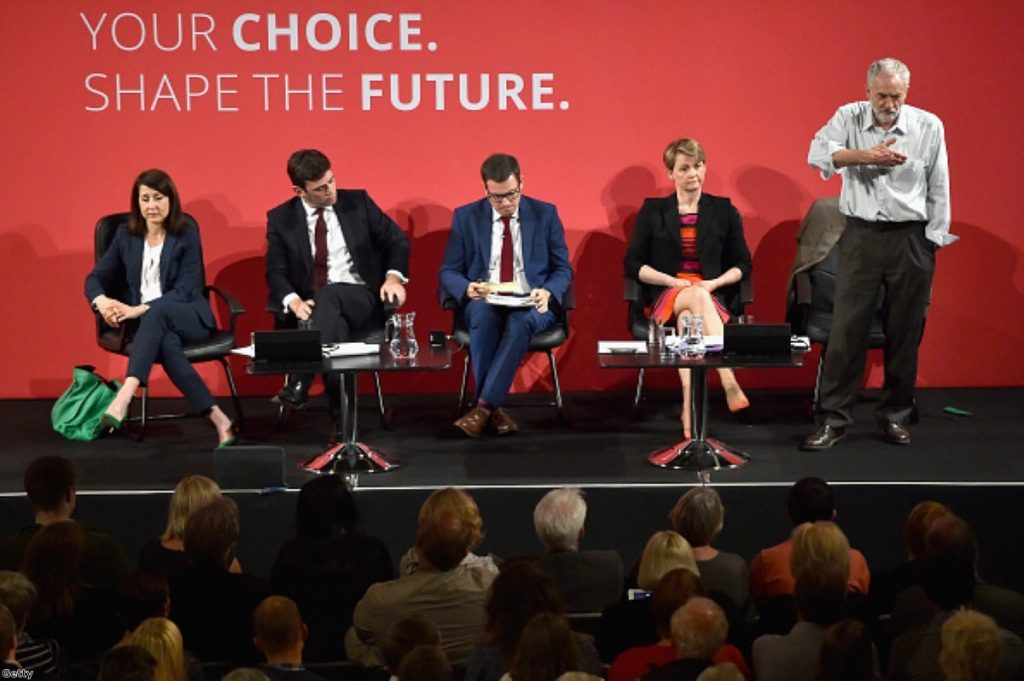 Labour frontbenchers say they would refuse to serve under Jeremy Corbyn