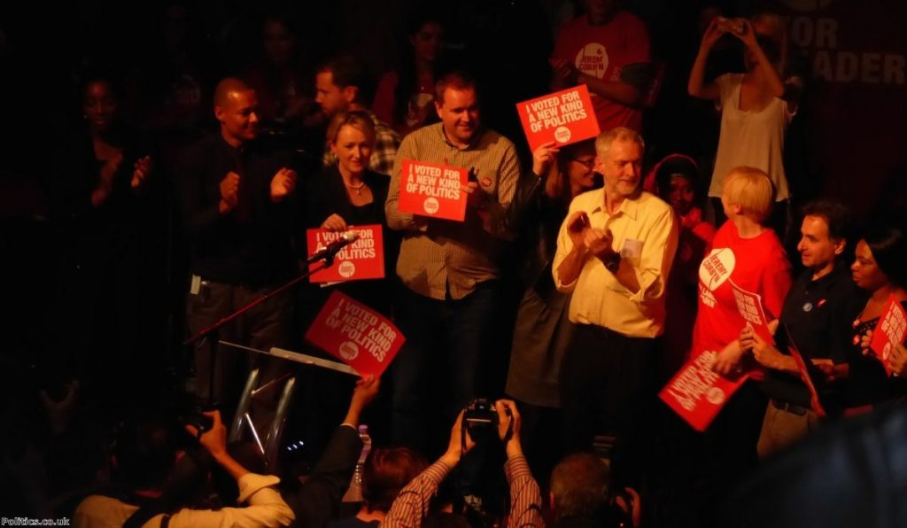 Corbyn's leadership campaign led to a surge in Labour party membership
