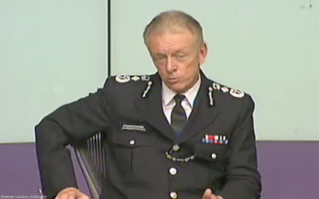 """Bernard Hogan-Howe: Stop and search reductions have """"gone too far"""""""