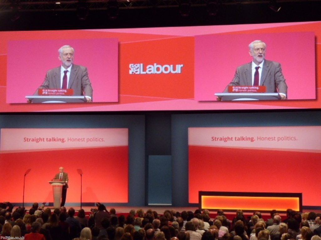 Corbyn has energised the Labour party conference