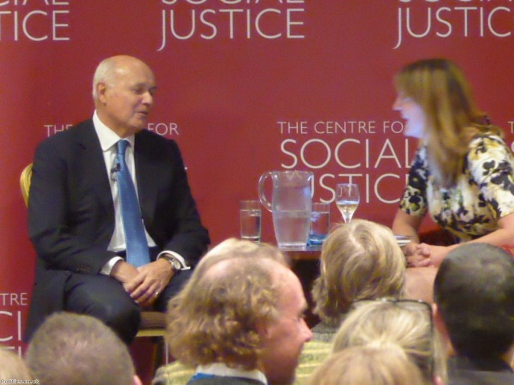 Iain Duncan Smith's welfare reforms have failed to lift people out of poverty