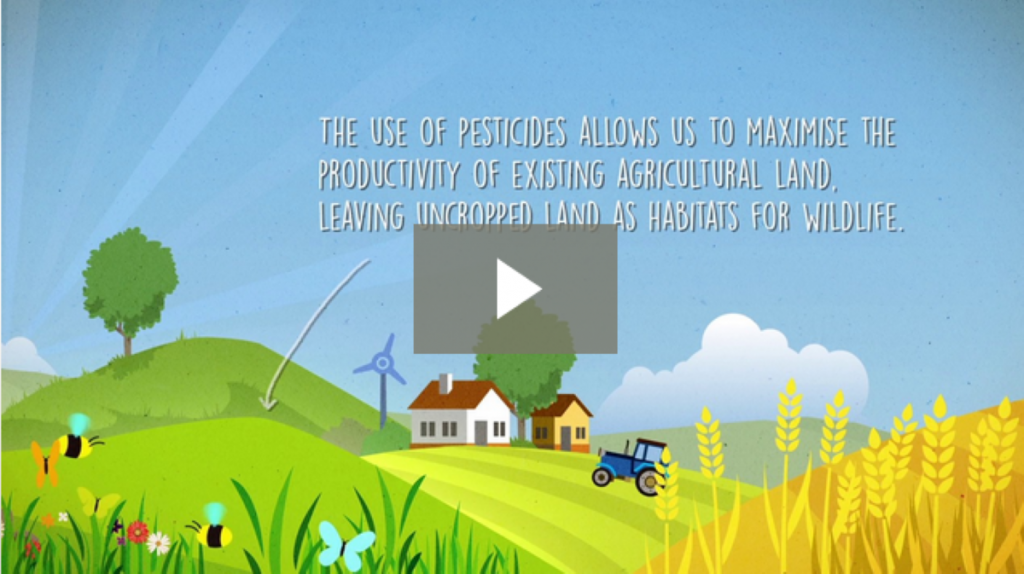 Pesticides in Perspective - Modern farming and biodiversity