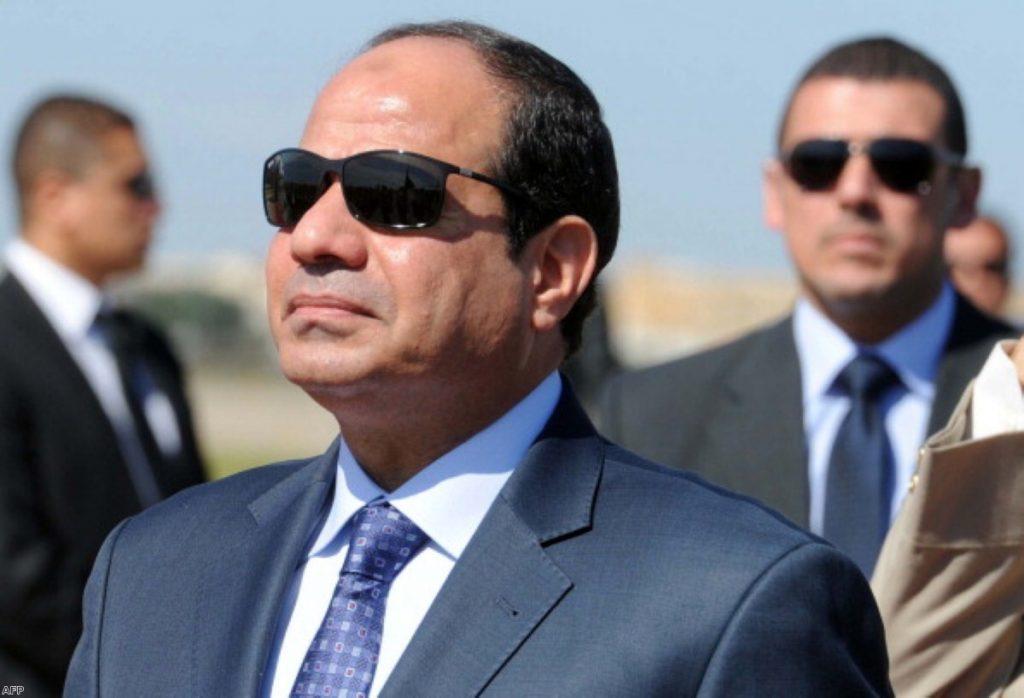 President al-Sisi is visiting the UK this week