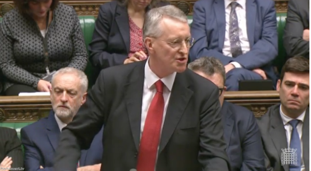Hilary Benn 'didn't show loyalty' to his leader, claims Salmond