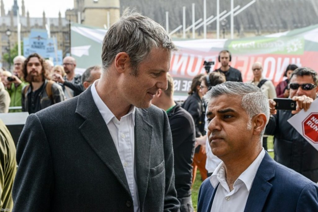 Zac Goldsmith and Sadiq Khan debated each other for the first time last night