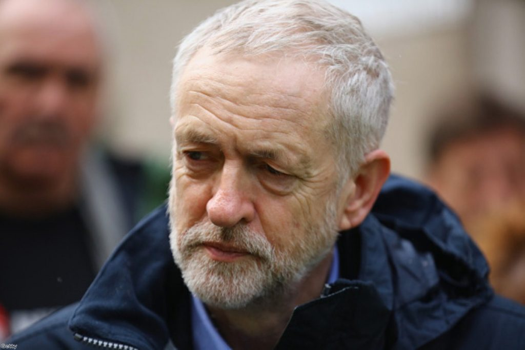 Jeremy Corbyn's comments were an act of 'unconditional surrender' to the Tories
