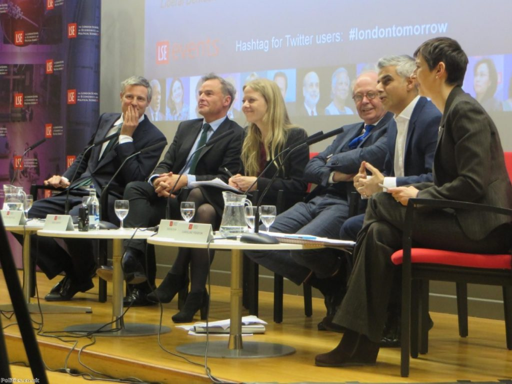 The first hustings of the campaign took place last week