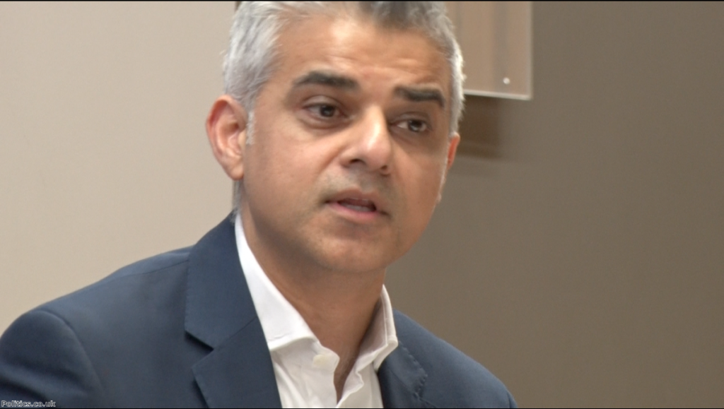 Sadiq Khan's mayoral bid has been bogged down in a row over transport finances