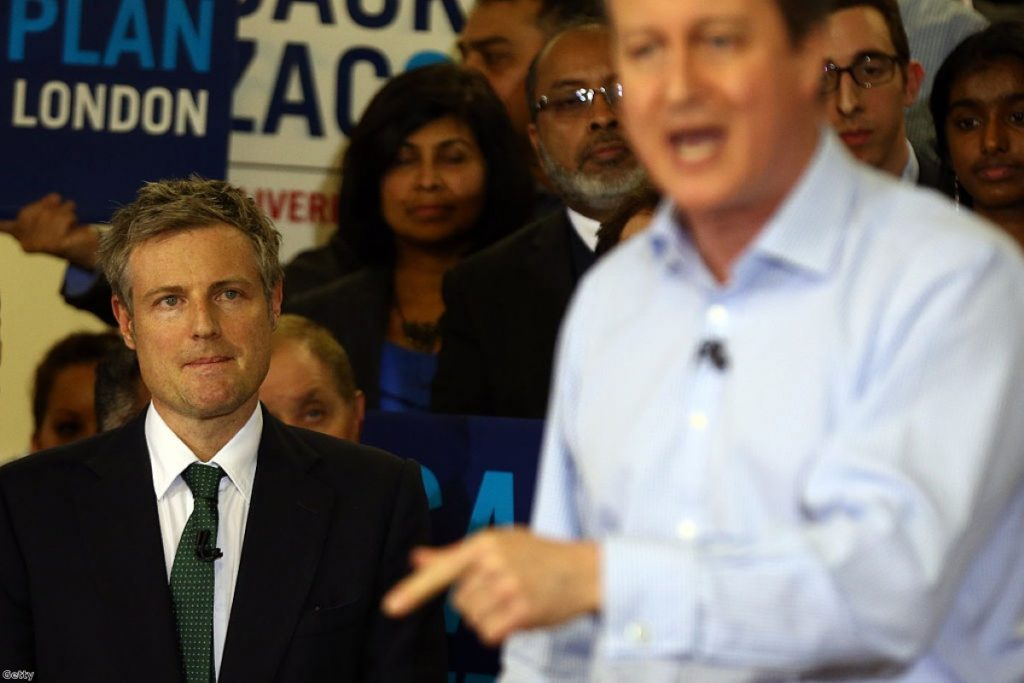Zac Goldsmith: A reluctant candidate?