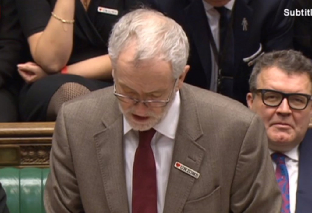 Corbyn: Time for the Labour leader to step down