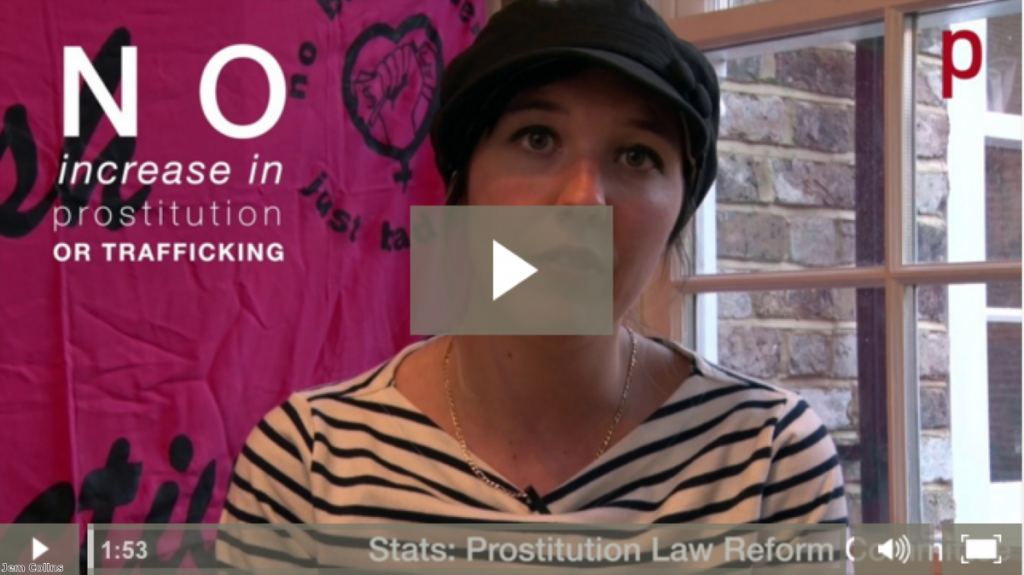 Campaigners from the English Collective of Prostitutes argue for full decriminalisation