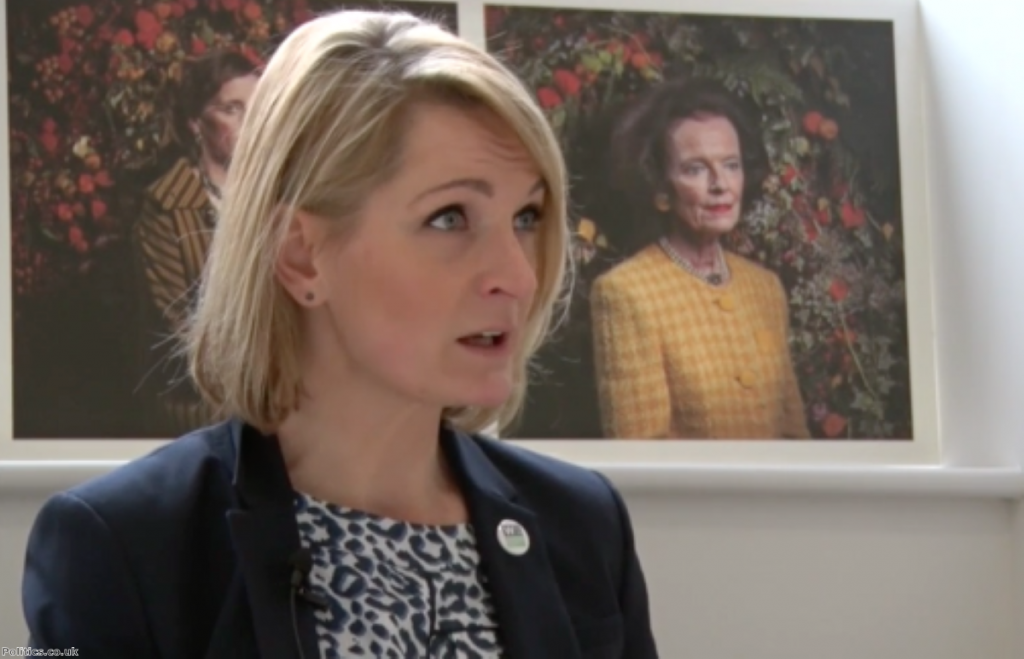 Sophie Walker: 'I felt very frustrated that none of the other political parties were speaking to me'