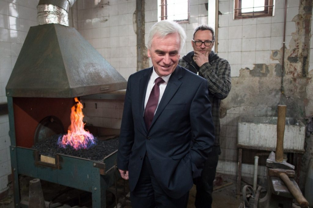 McDonnell meets young business owners at Building BloQs last week