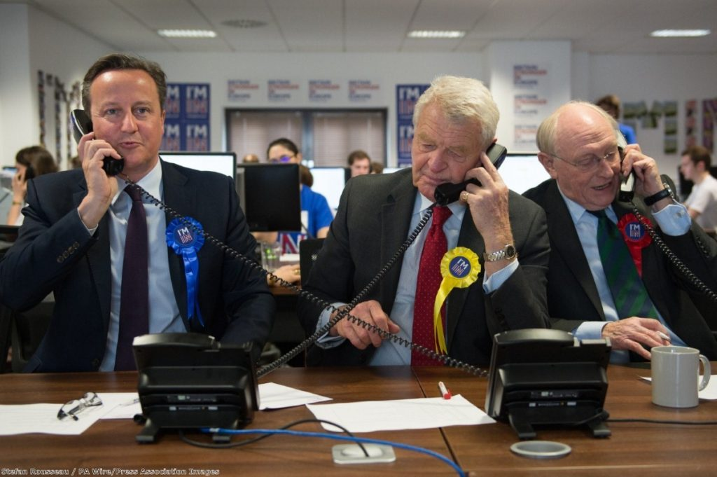 Both sides of the EU referendum campaign have run almost entirely male-dominated campaigns