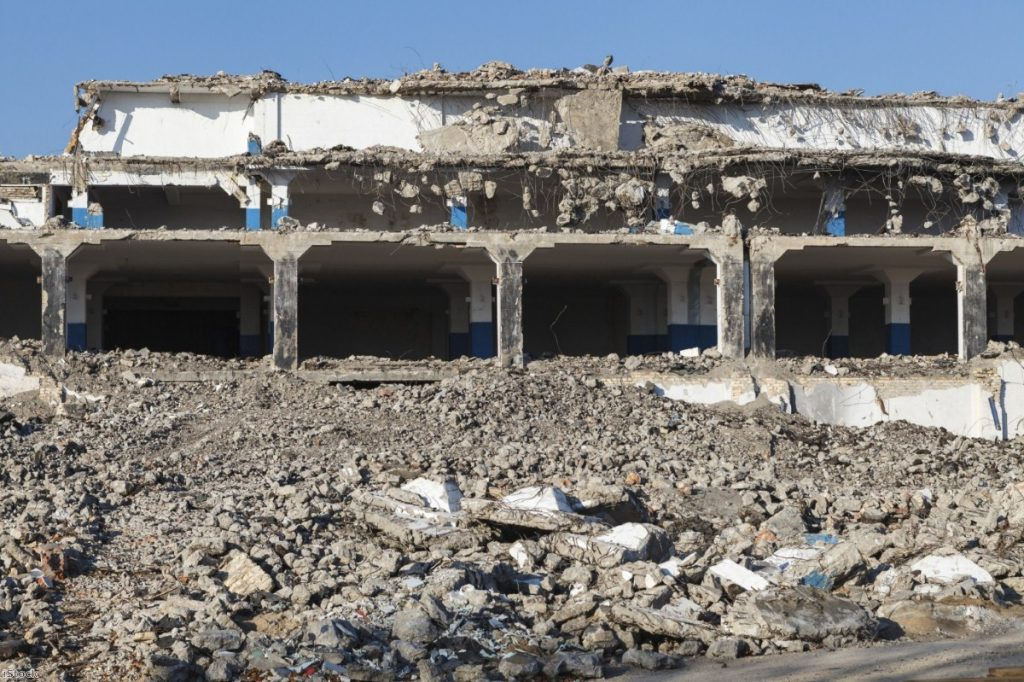 Schools, hospitals and homes have been destroyed by the air strikes in Yemen