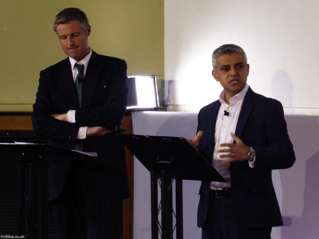 Zac Goldsmith has 'the look of a kid who's just had his last toy taken away'