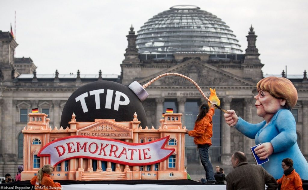 """""""Popular opposition to TTIP is entrenched right across Europe"""""""