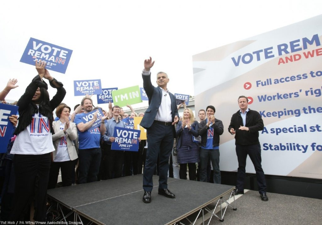 """John McDonnell is angry at Sadiq Khan for sharing a platform with David Cameron"""