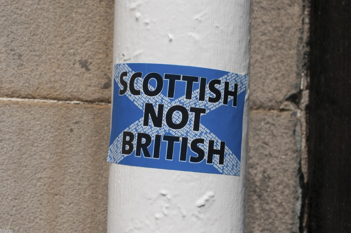"""""""Scotland was dragged out of the EU against the wishes of Scottish people"""""""