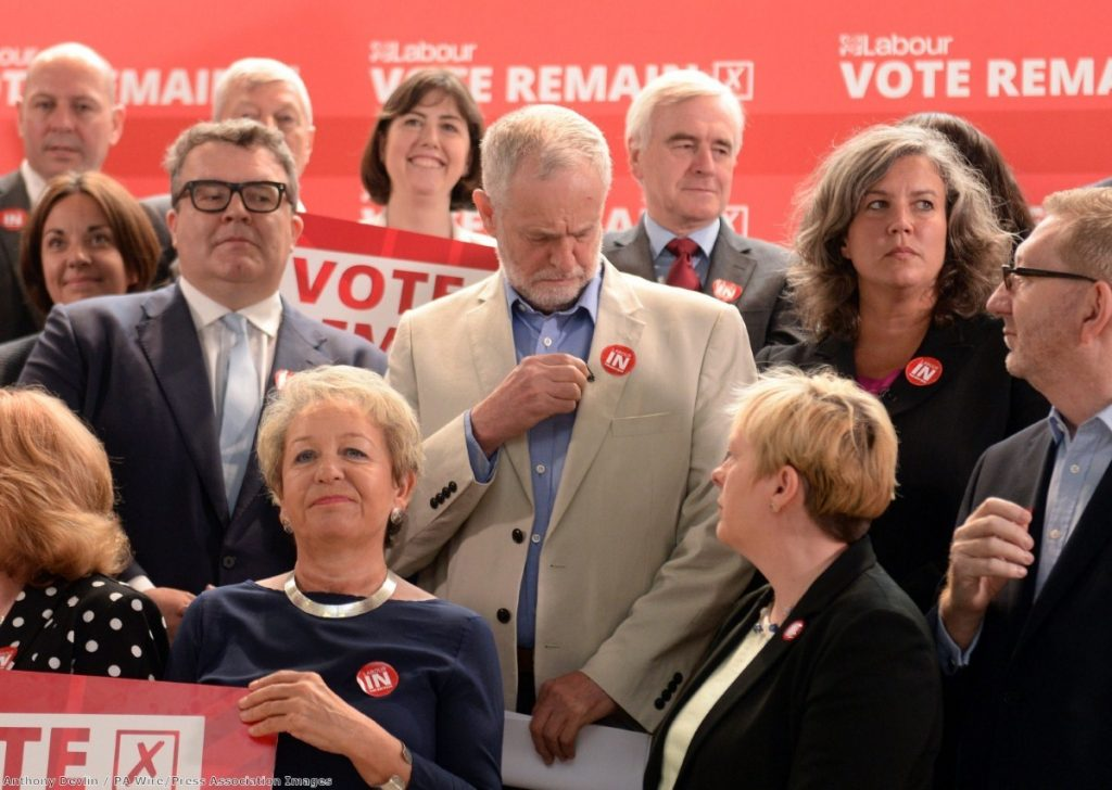Labour MPs struggling to decide who has the best chance of ousting Jeremy Corbyn