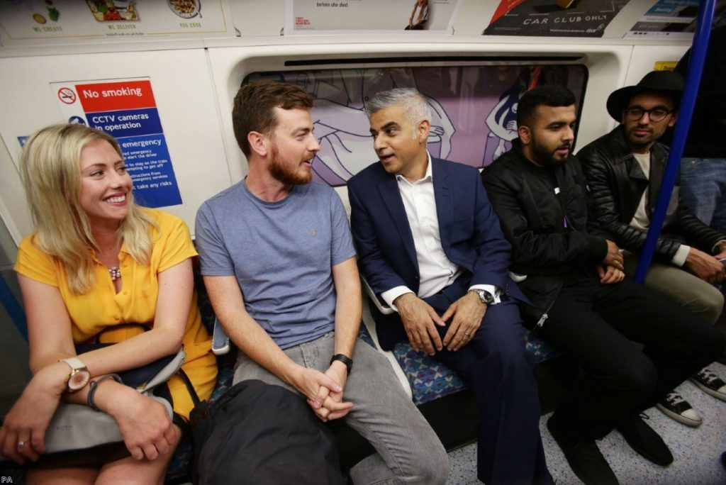 Sadiq Khan's popularity among Londoners is not shared by supporters of Jeremy Corbyn