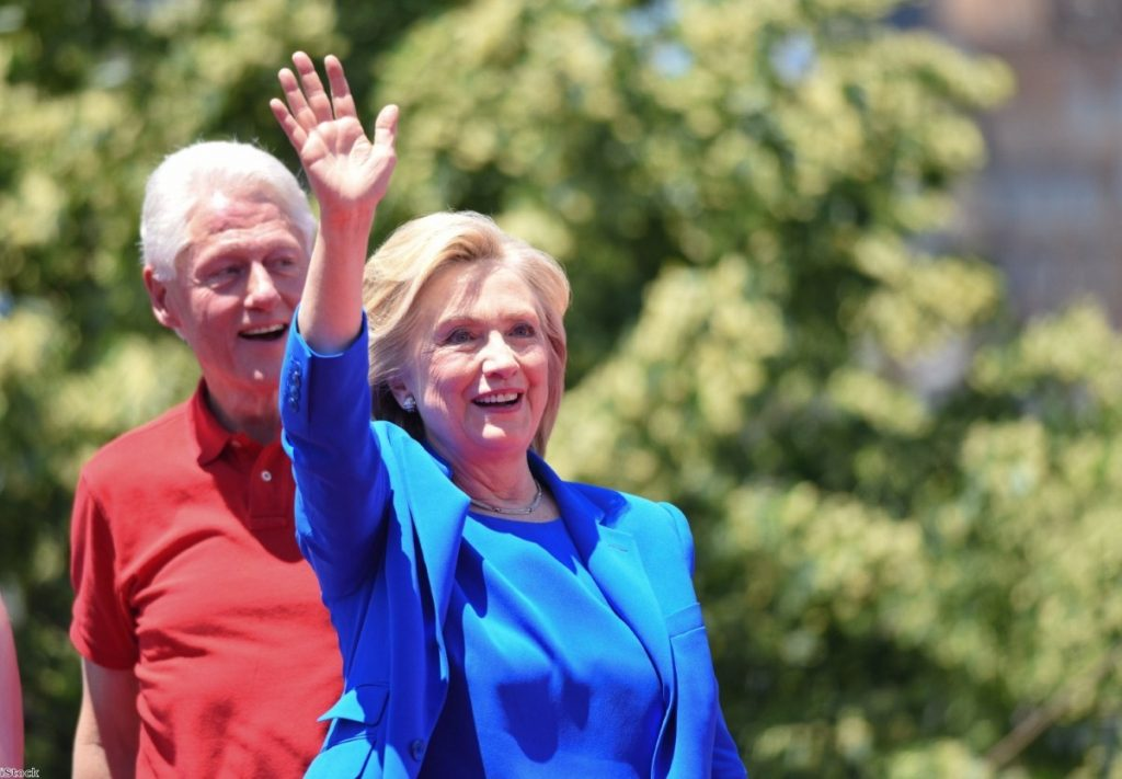 """""""Over time Clinton has become a by-word for scandal"""""""