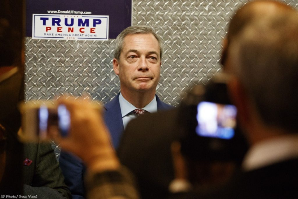 Email exchange between Seb Dance and Nigel Farage