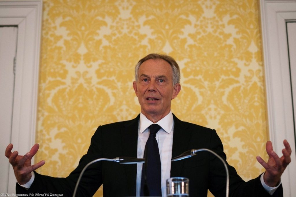"""""""In many ways, Blair is emblematic of the type of politics the electorate rejected during Brexit."""""""