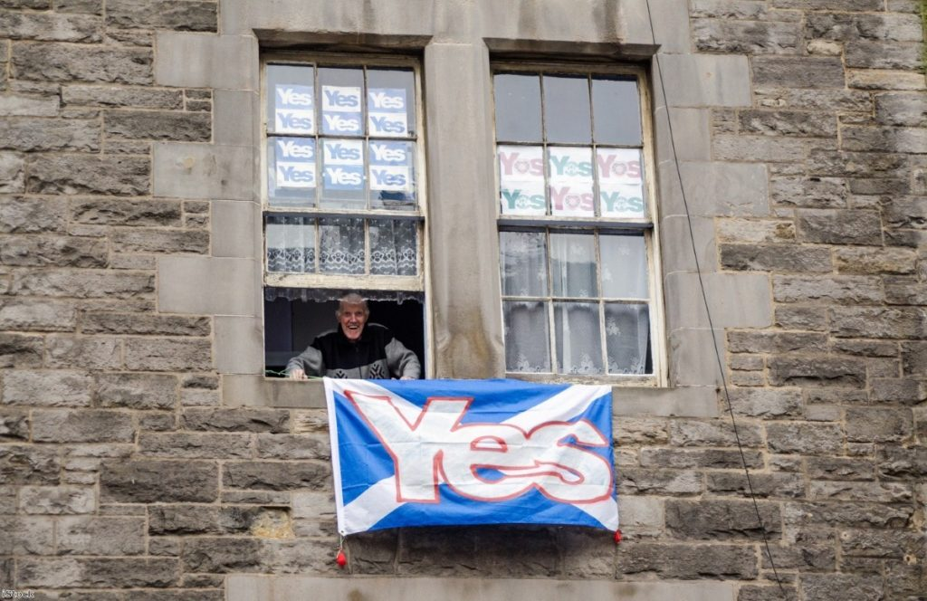 """""""For outsiders to see Scotland as their pain-free lab for radical economic experiments is no less contemptuous than the braying barons of Westminster"""""""