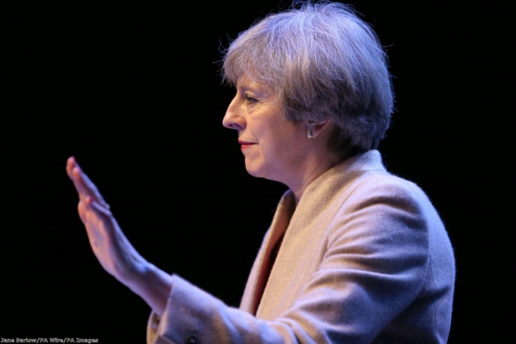 """""""May's cruel streak could create many enemies on the backbenches"""""""