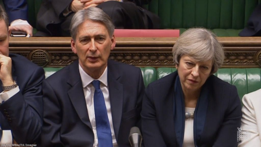 """""""They want Philip Hammond to start opening the purse strings for no-deal preparation"""""""