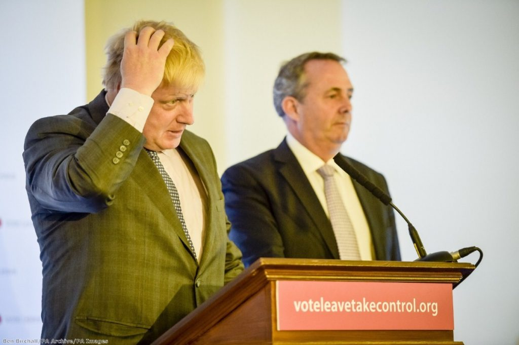 """""""Those fearful eyes from the Brexit trio tell us that they would likely fail at either poker or Article 50"""""""