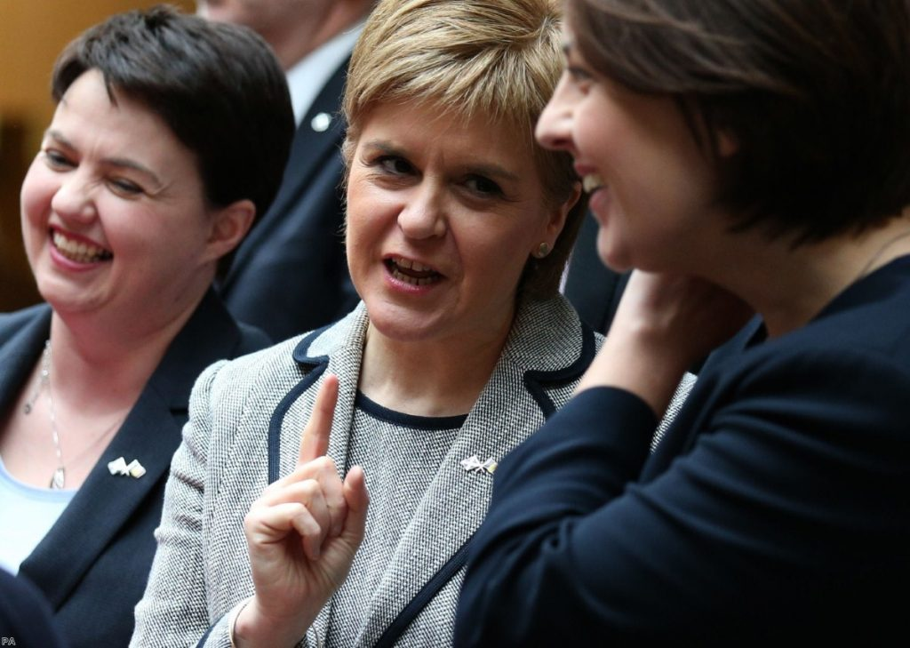 """""""A Scottish Conservative revival which could deprive the still mighty SNP of several seats come June 8th"""""""