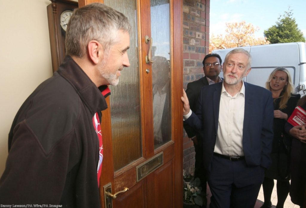 """""""If Labour really has chosen to pursue non-voters, the strategy is working. The party is winning more of them than the Tories."""""""