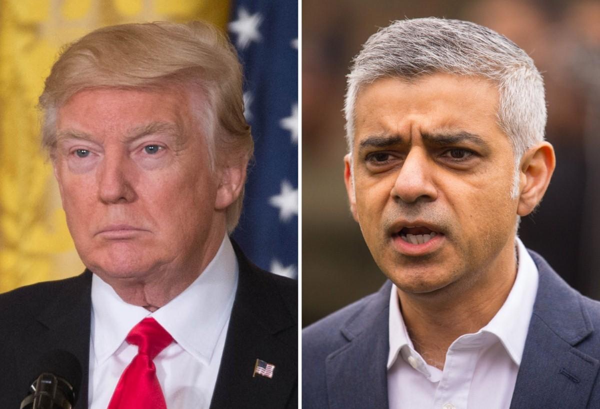 "Trump to Khan: ""Pathetic"""