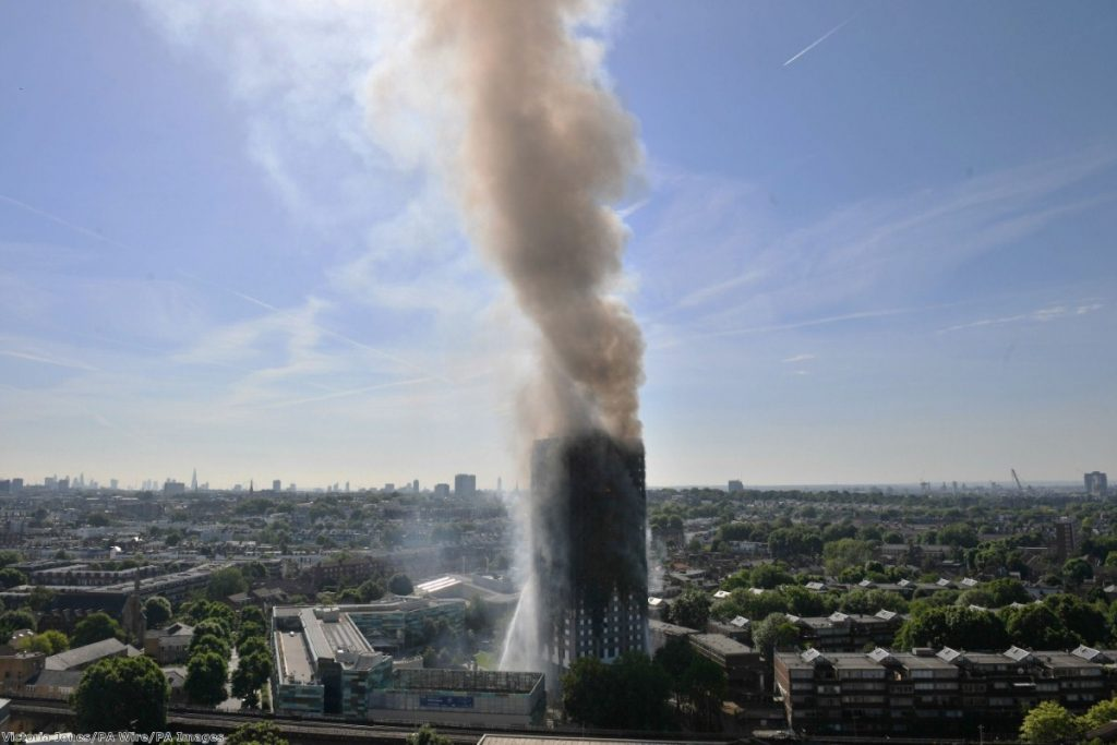 The government is trying to avoid any repeat of the Grenfell Tower disaster