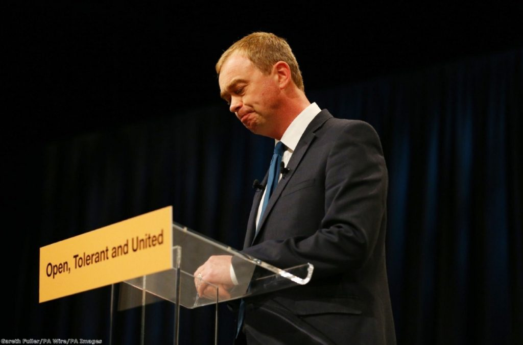 """To see Farron's image unravel in the way it has this week is upsetting for many"""