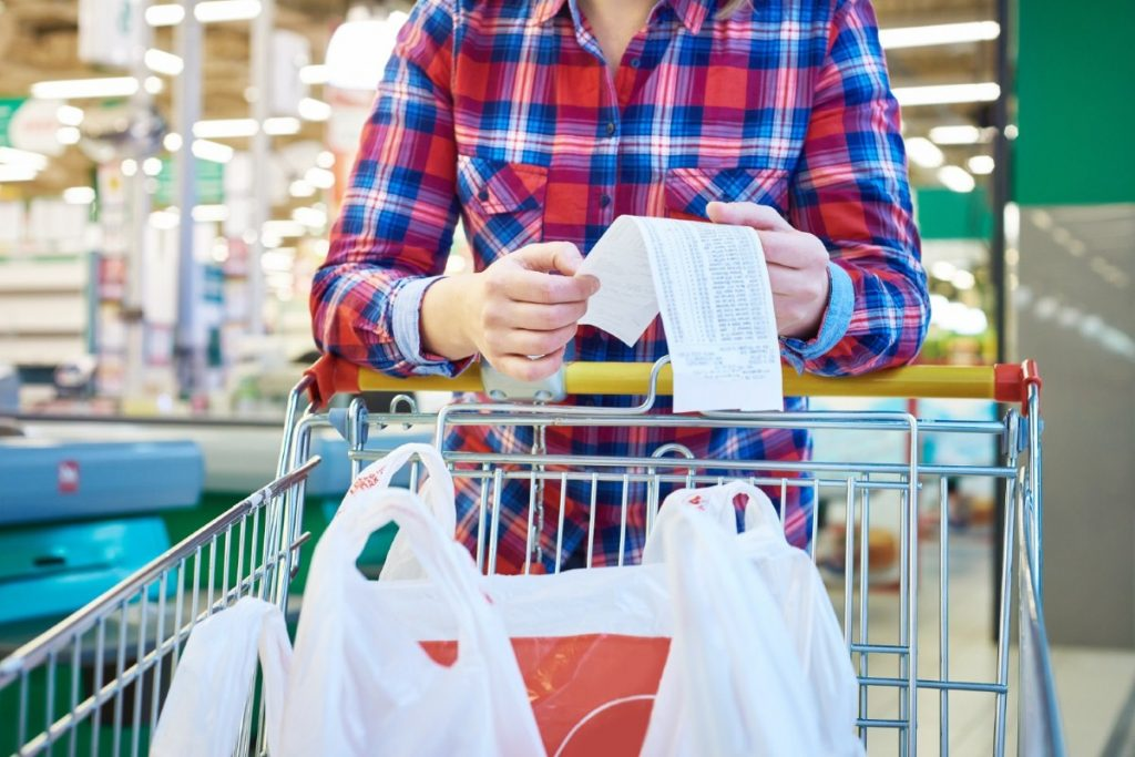 Counting the cost: Prices set to rise at the checkout.
