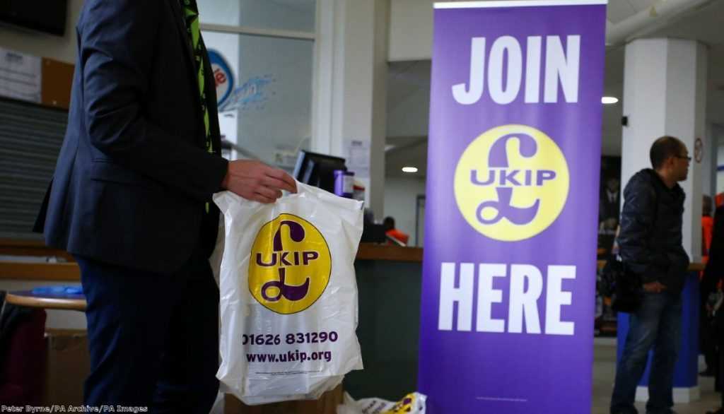 """""""Under its new leadership UKIP could cease to act as a safety valve for extremism and instead become a platform for it."""""""