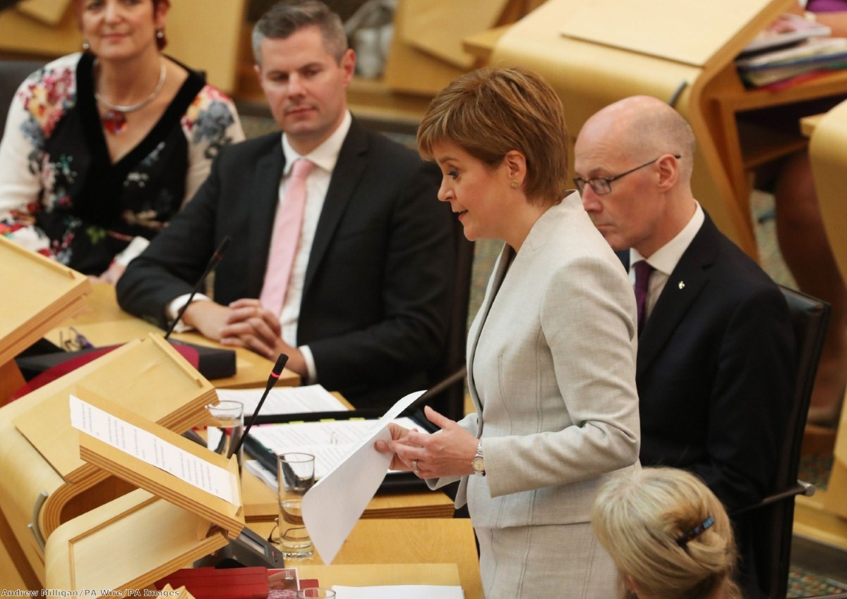 """""""For the most part, however, what the first minister served up as part of a long-trailed effort to """"refresh"""" her administration"""""""