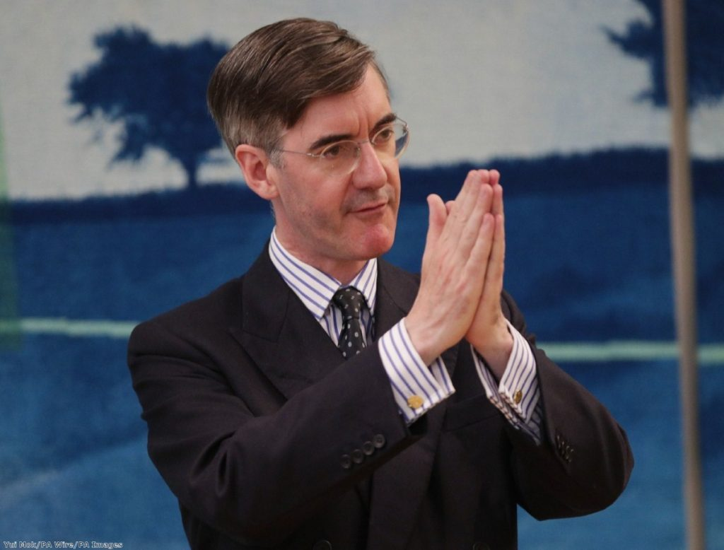 """Rees-Mogg is not a principled man, he is a man who picks and chooses his religious beliefs to suit him."""