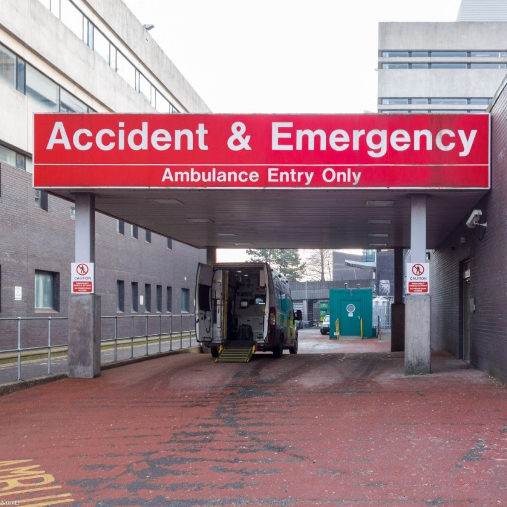"""""""20 NHS trusts across the country have taken part in a government pilot scheme to trial identification checks for all patients"""""""