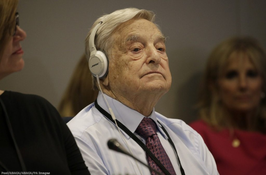 """""""The main point of interest in the Telegraph's recent attack on philanthropist George Soros is not whether its authors are antisemitic, but what it tells us about the growth of the paranoid style in British politics."""""""
