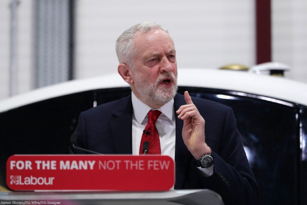 """""""Corbyn is raising issues he thinks he can secure a presentational win on"""""""